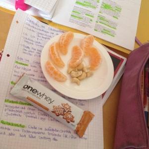 One Whey Lebkuchen Riegel - Der perfekte Lernsnack ! ;)